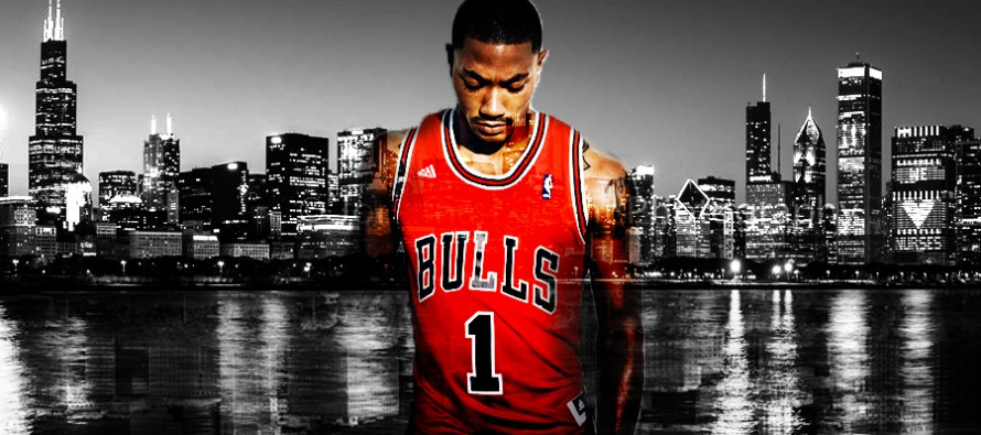 """Derrick Rose. """"If you did it once, you can do it again""""."""