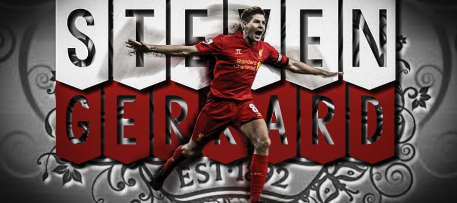 Ritratto di Steven Gerrard