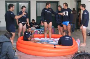 rugby vasca ghiaccio