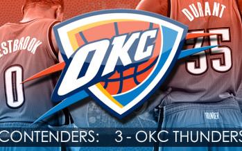 Contenders: Oklahoma City Thunder.